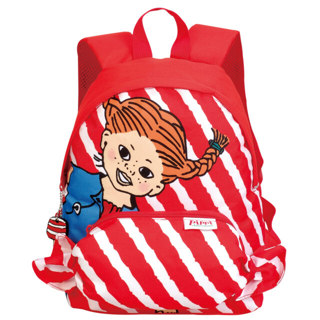 Pippilångstrump Yummi back pack red