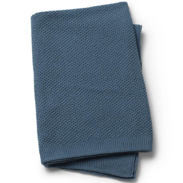 Elodie Details Våffelvävd Filt - Tender Blue