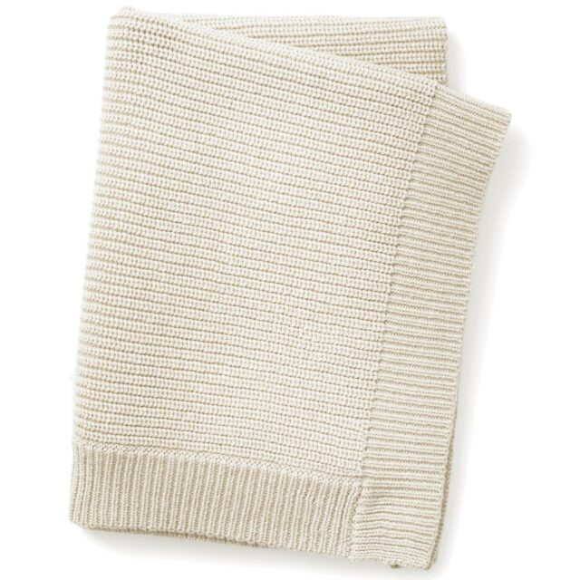 Elodie Details Wool Knitted Filt Vanilla W