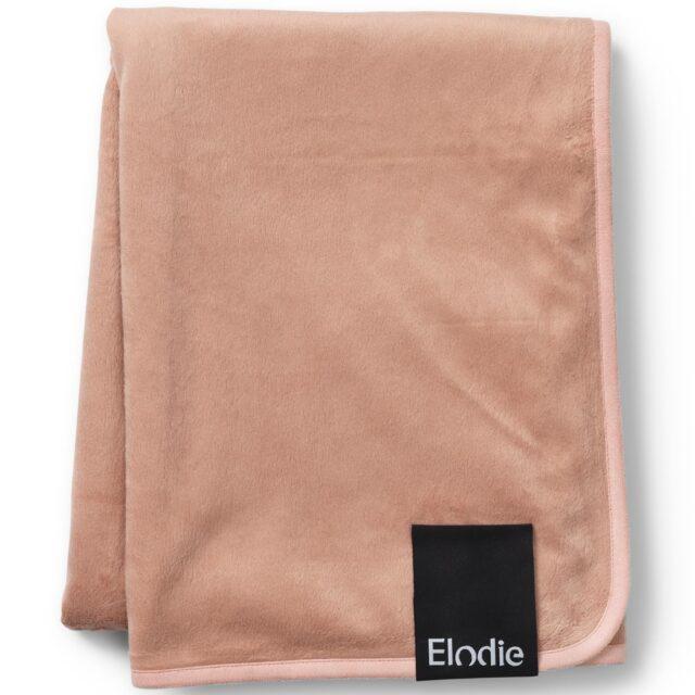 Elodie Details Pärlsammetsfilt Faded Rose