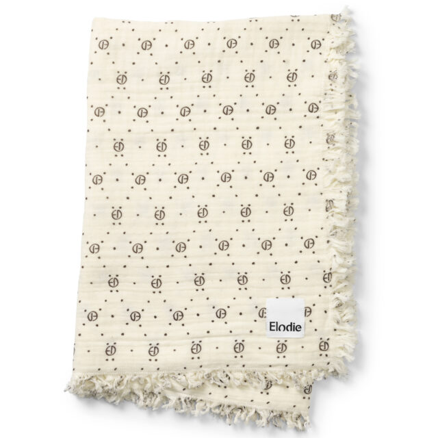 Elodie Details Soft Cotton Filt - Monogram