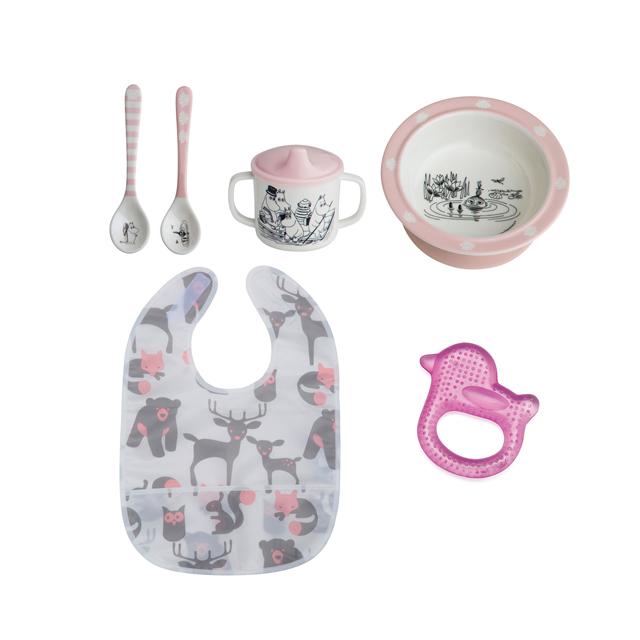Rätt Start Mumin Ätpaket Rosa_