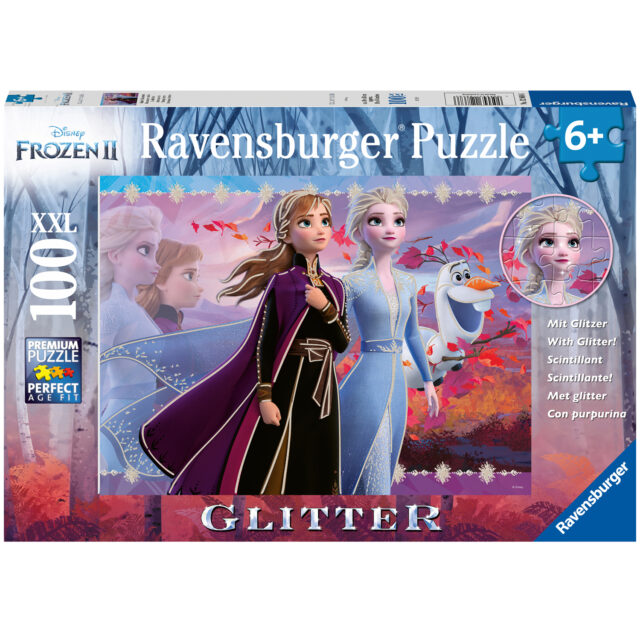 Ravensburger Pussel Frozen 2:Strong Sisters 100 Bitar