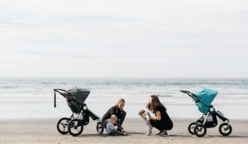 Bumbleride barnvagnar