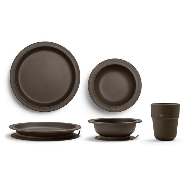 Elodie Details Barnservis 3 delar – Chocolate
