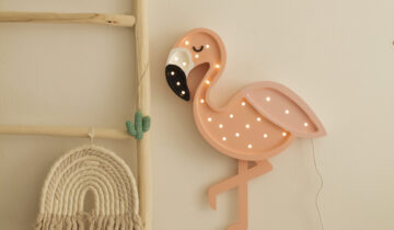 Little Lights Flamingo Lampa – nr 1