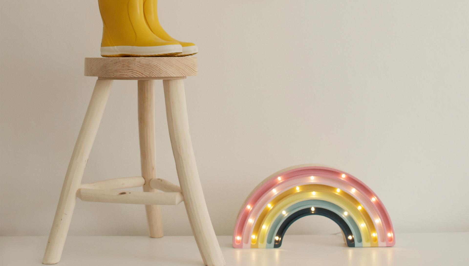 Barnbutik på nätet - little lights lampor