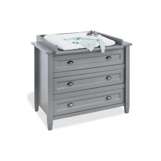 Pinolino skötbord grå