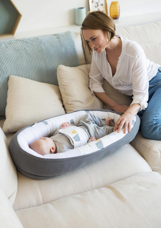 Babynest för sovstunden