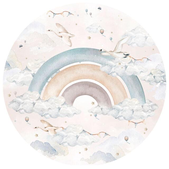 Dekornik - Regnbåge blå