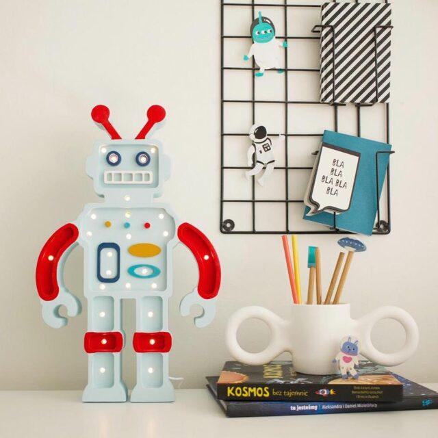 Little Lights Robot Blå