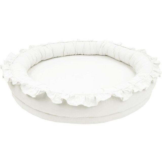 Cotton & Sweet Junior Nest Pure Nature - White