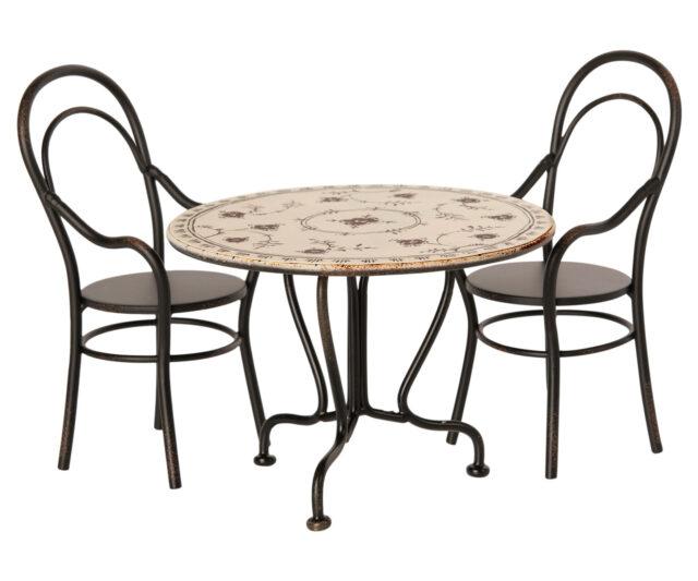 Maileg minuature bord med stolar