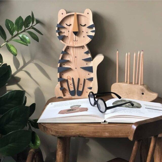 roomgaga nattlampa tiger